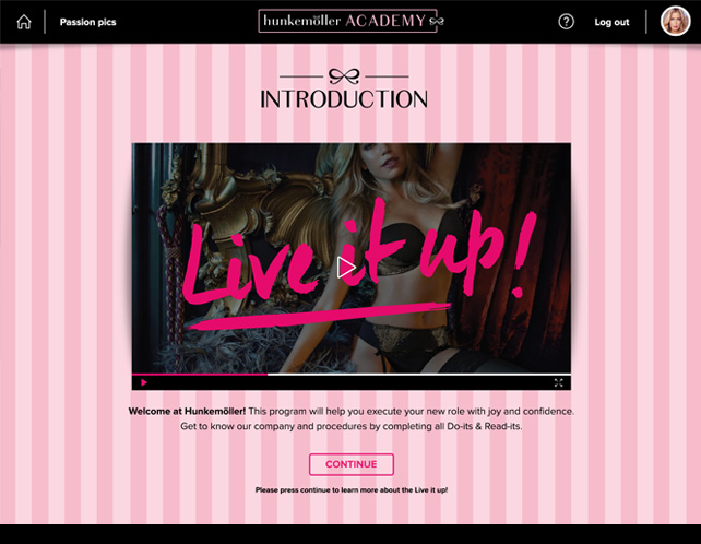 E-learning Hunkemöller